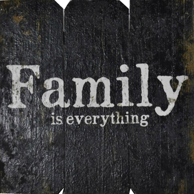 FAMILY is Everything | Handcrafted, Distressed Wood Sign The Maples' Tree