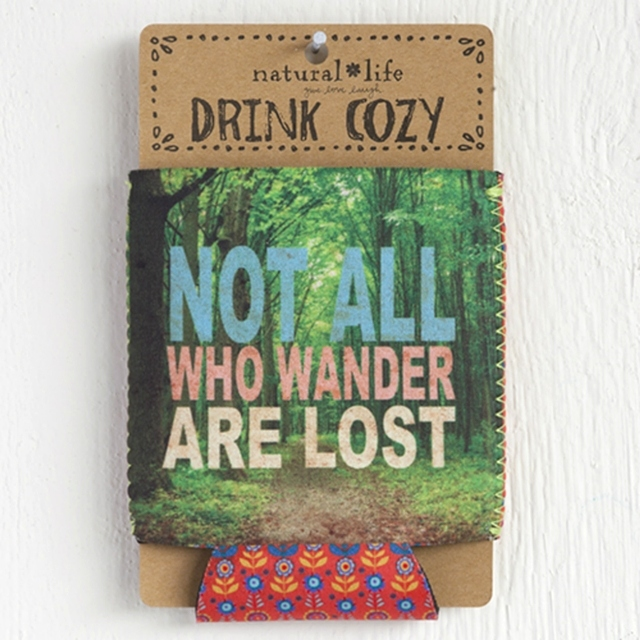 Not All Who Wander Are Lost - Cozy The Maples' Tree