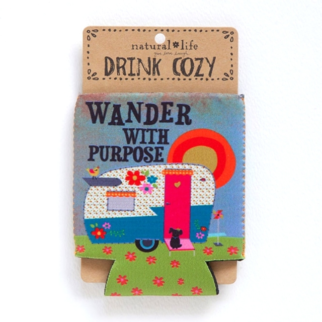 Camper, Wander With Purpose - Cozy The Maples' Tree